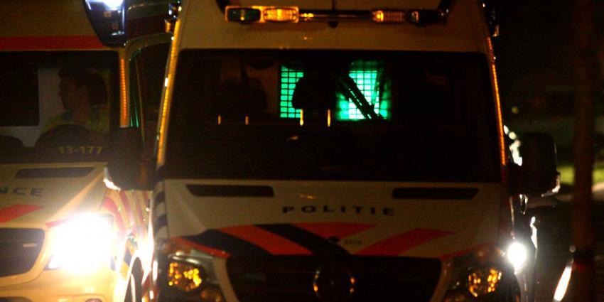 ambu-politieauto-donker