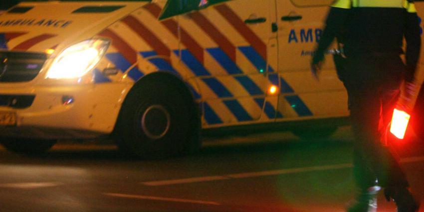 Man ernstig gewond na eenzijdig ongeval