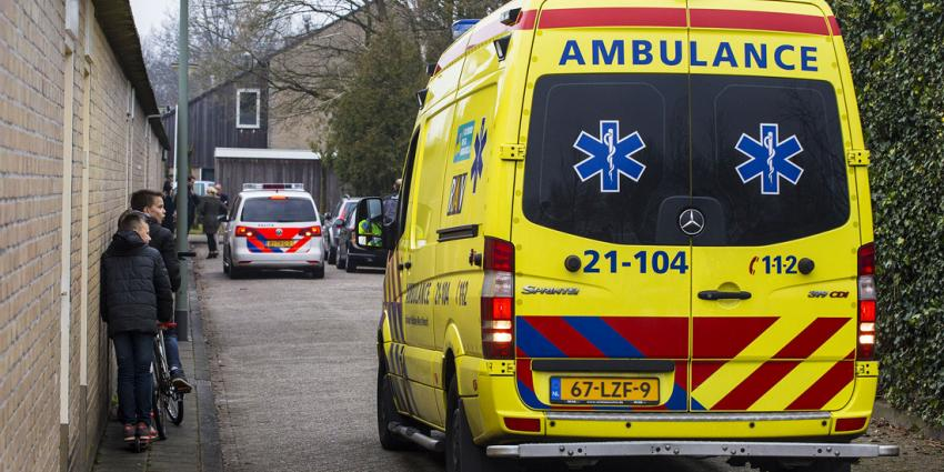 Hulpdiensten ingezet voor medisch incident in woning Boxtel