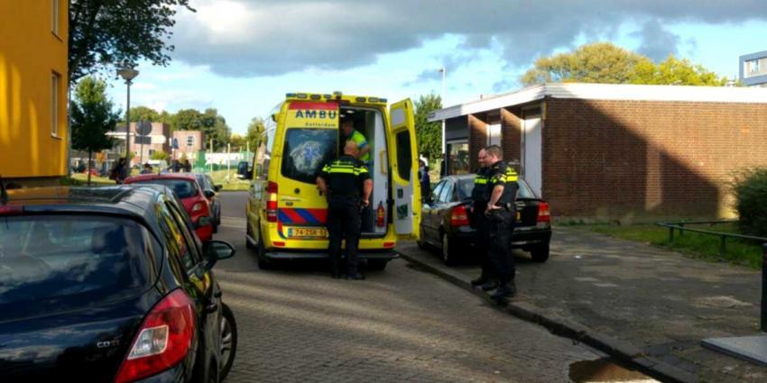 Heli vliegt uit voor medische hulp baby Schiedam