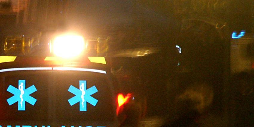 Foto van ambulance in donker   Archief EHF