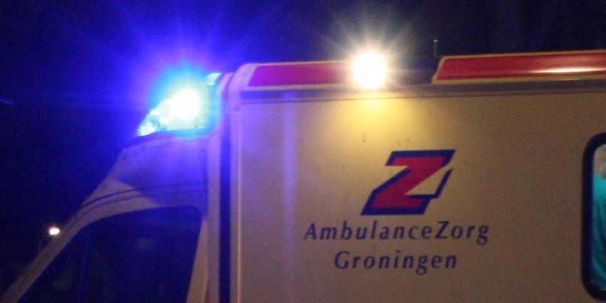 Bestuurder mist bocht in Sappemeer
