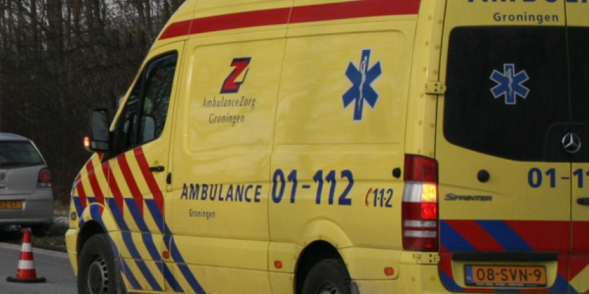 Motorrijder gewond bij ongeval in Loppersum