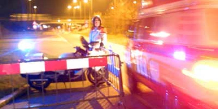 Foto van ambulance motoragent donker   Archief EHF