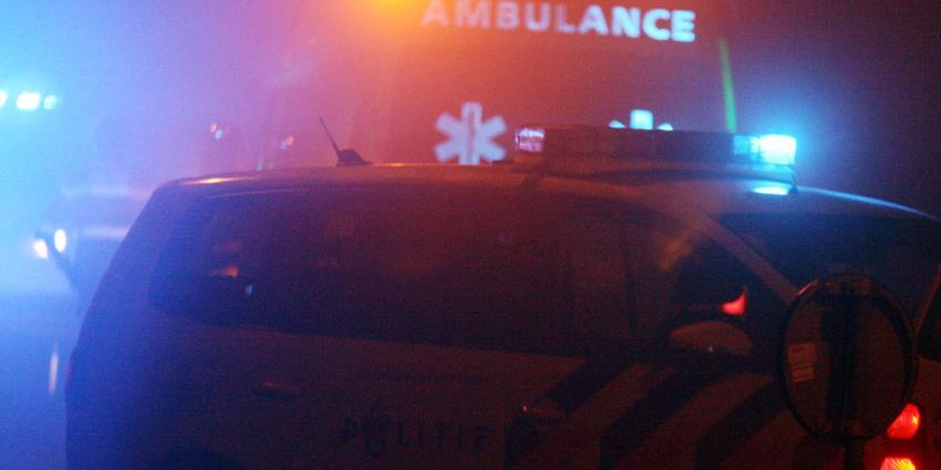 Op pijlwagen gebotste automobilist overleden