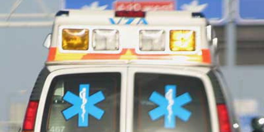 vrachtwagens, ongeval, brand, cabine, chauffeur, overleden