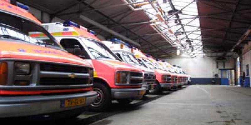 'Aankomende week weer drie grote stakingen ambulancepersoneel'