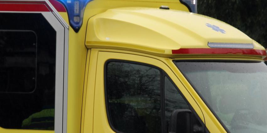 Man gewond bij verkeersongeval in Exloo