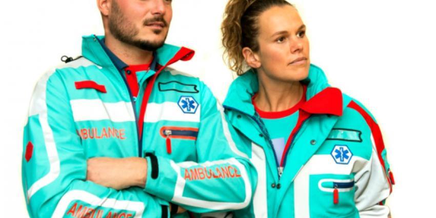 nieuwe, kleding, personeel, ambulance