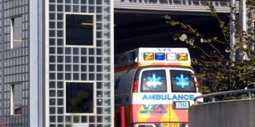 Foto van ambulance op eerste hulp ziekenhuis | Archief EHF