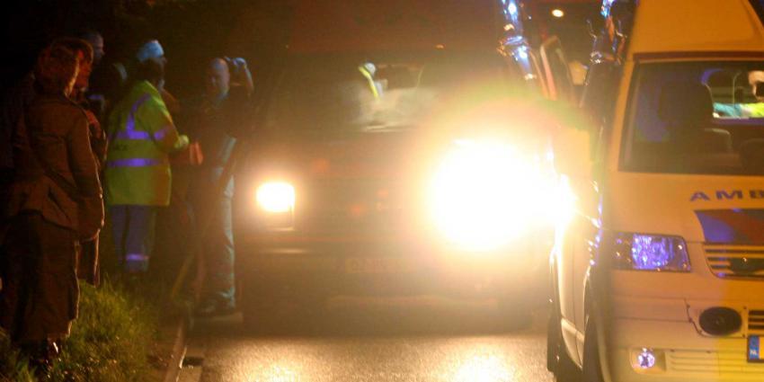 Vrouw komt om bij ongeluk op A59