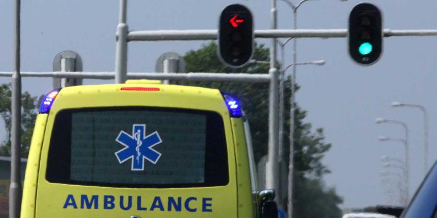 Bouwvakker gewond na val van stellage