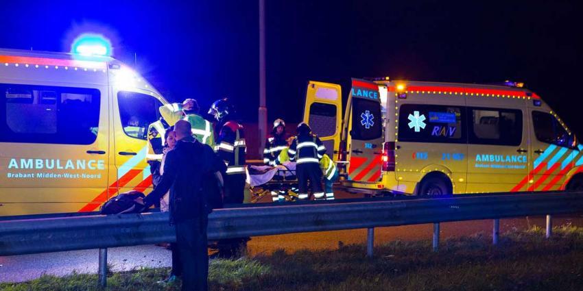 Meerdere gewonden bij ongeval A2 bij Boxtel