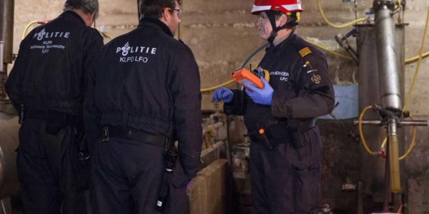 Politie ontmantelt amfetaminelab in boerderij Gelders Laren