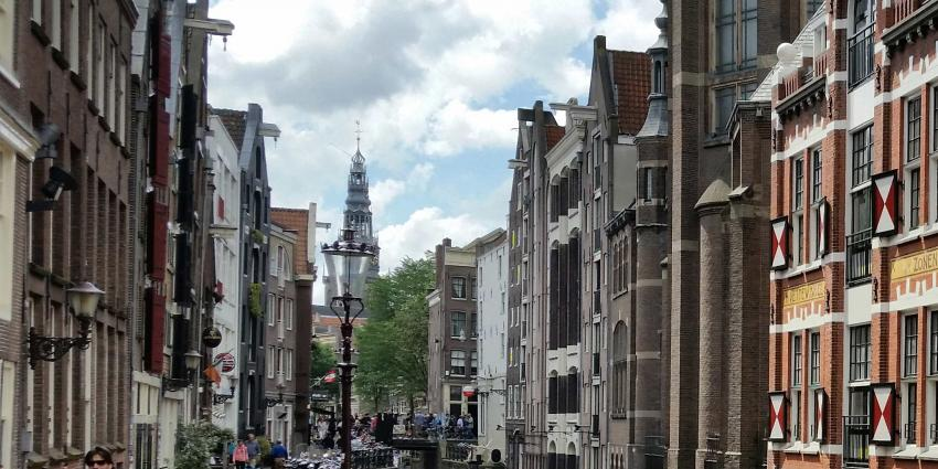 Amsterdammers wonen het kleinst