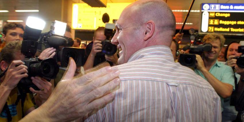 Minister Kamp onthult Sojoez capsule André Kuipers in Noordwijk