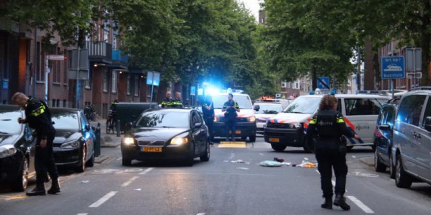 Foto van schietincident Rotterdam
