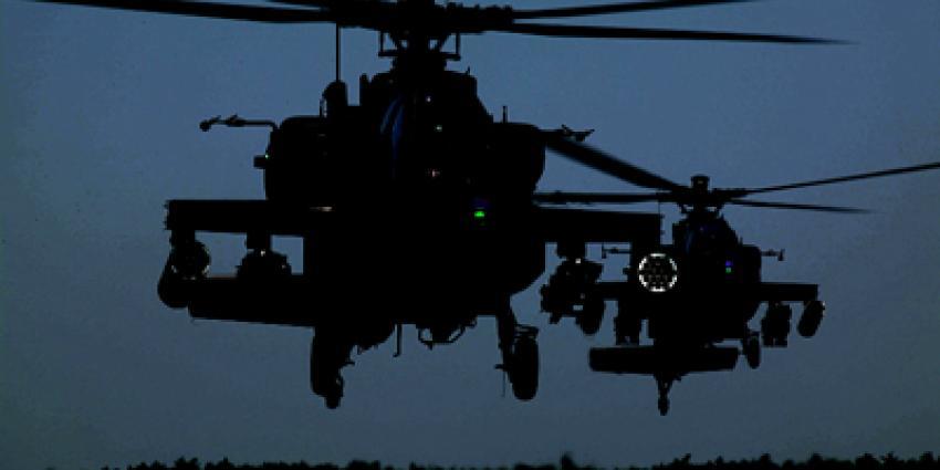 Nachtvluchten helikopters Gilze-Rijen mogen voorlopig doorgaan