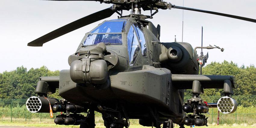 'Overgelopen militair had toegang tot informatie over Apache helikopters'