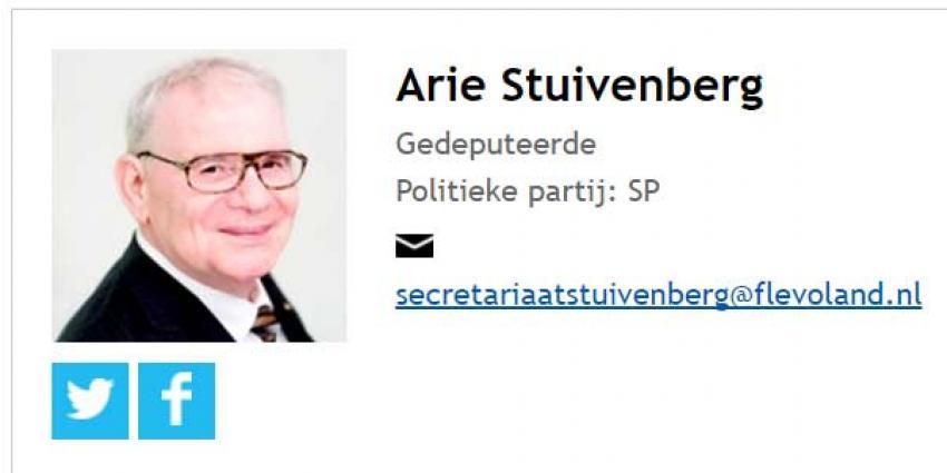 Arie Stuivenberg keert niet terug als gedeputeerde vanwege een ernstige ziekte