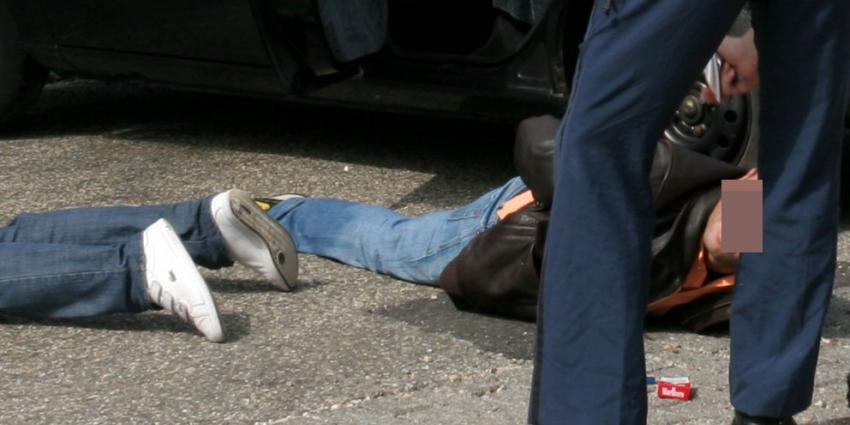 Autodieven tot stoppen gedwongen op autosnelweg