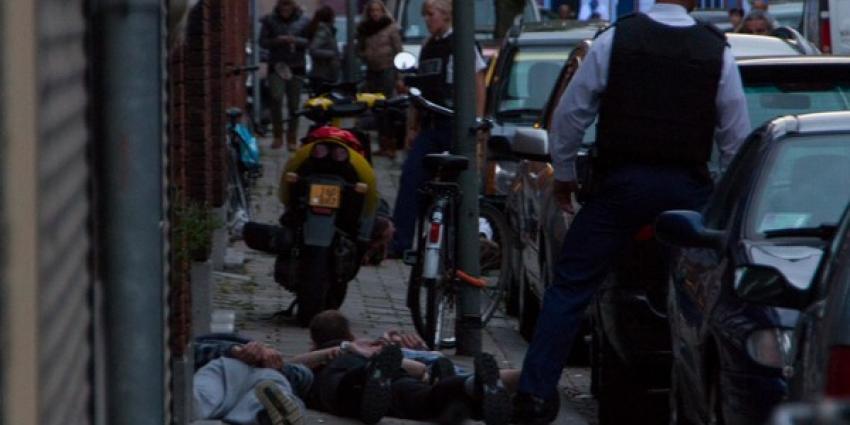 Arrestatie bij schietpartij | Flashphoto | www.flashphoto.nl