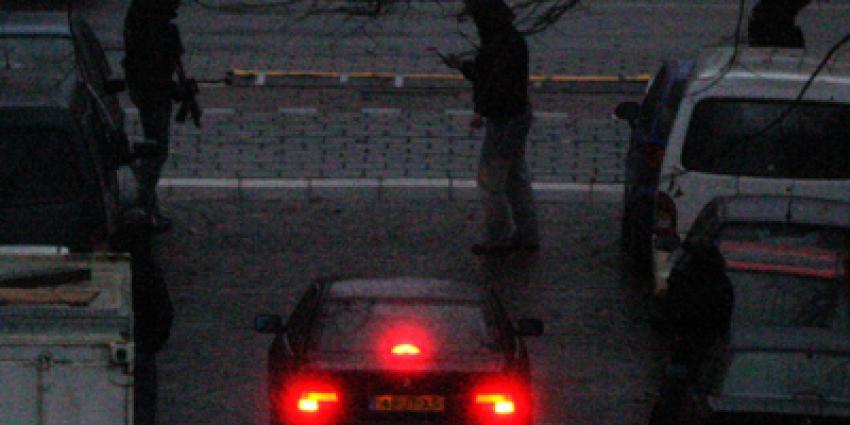 Foto van arrestatieteam avond auto | Archief EHF