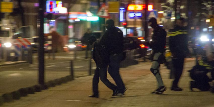 Aanhouding na inval arrestatieteam Rotterdamse woning