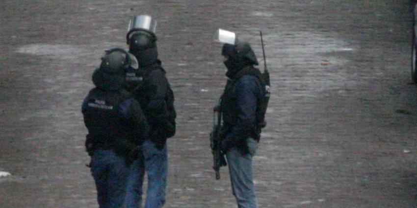 Arrestatieteam houdt schutter (20) Korreweg aan in Groningen