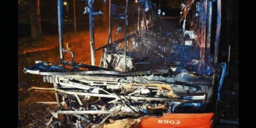 Onslagen chauffeur Arriva verdacht van brandstichtingen
