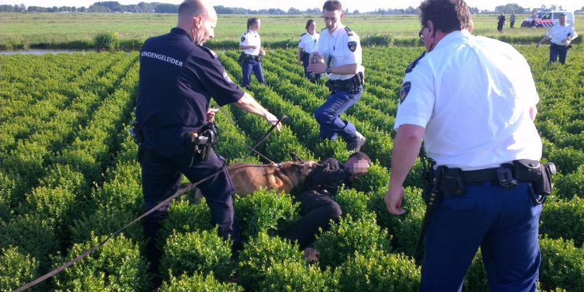 foto van arrestatie | bon