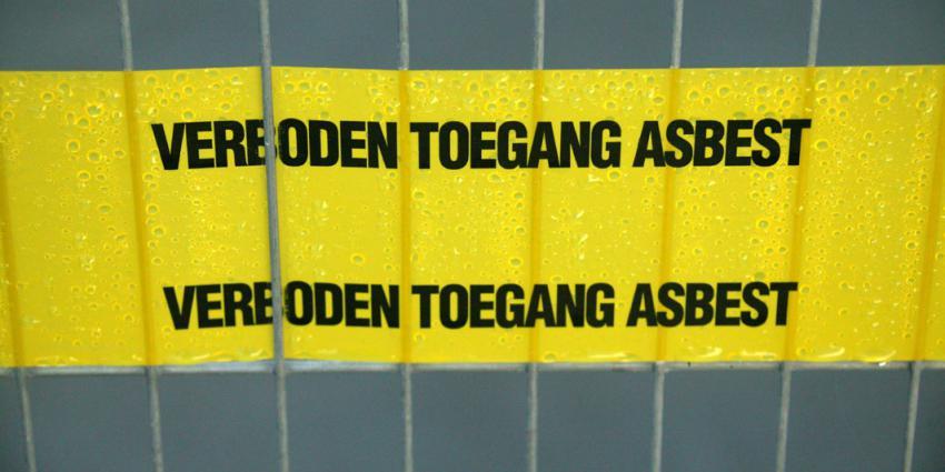 Asbestverdacht materiaal aangetroffen in Stationsgebied Delfzijl