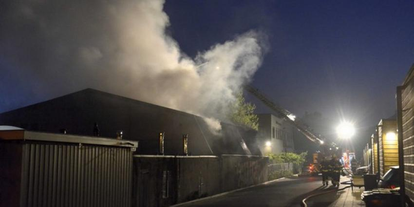Schuur in brand | Aneo Koning | www.fotokoning.nl