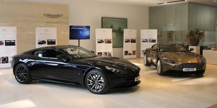 Veel belangstelling voor première Aston Martin DB11 in Eindhoven