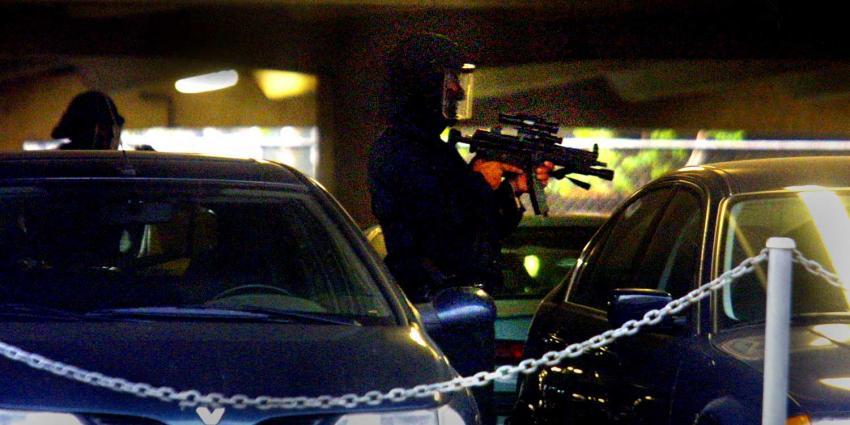 arrestatieteam-machinegeweer