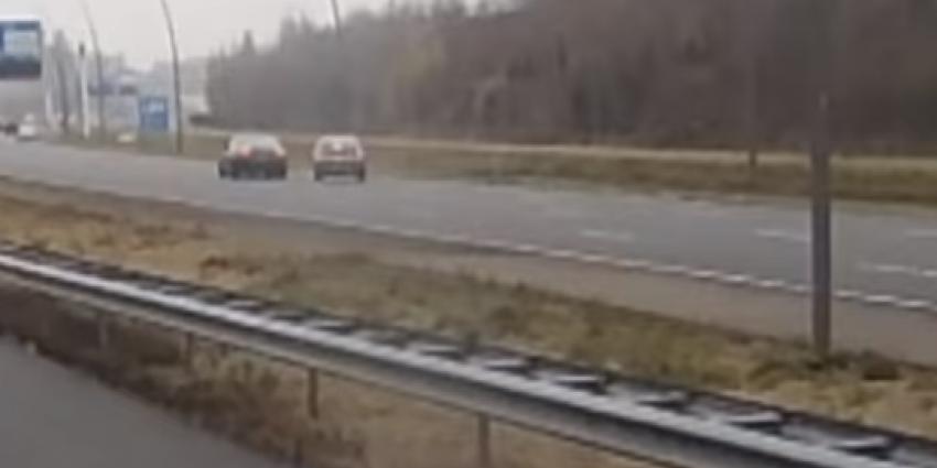 Audi bestuurdeer drukt andere auto van weg: cel voor dubbele poging doodslag