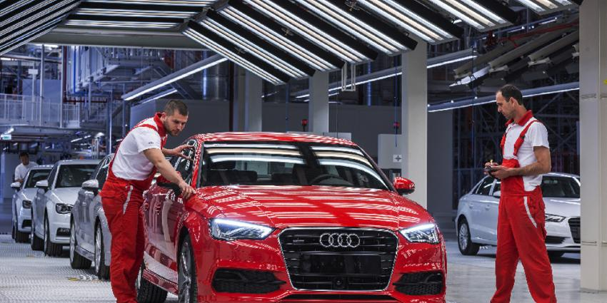 Foto van Audi fabriek | Audi