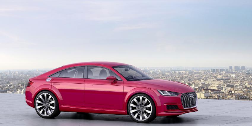 Een nieuwe vorm van sportiviteit: De Audi TT Sportback concept