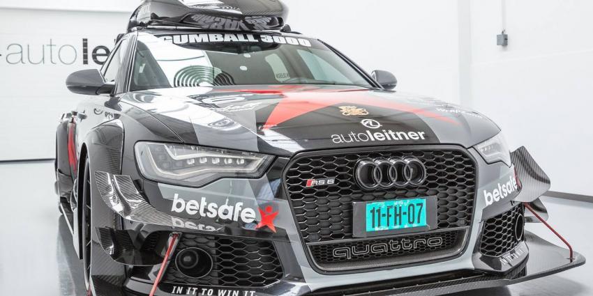 Schietende bandieten stelen exclusieve Audi tijdens filmopnames