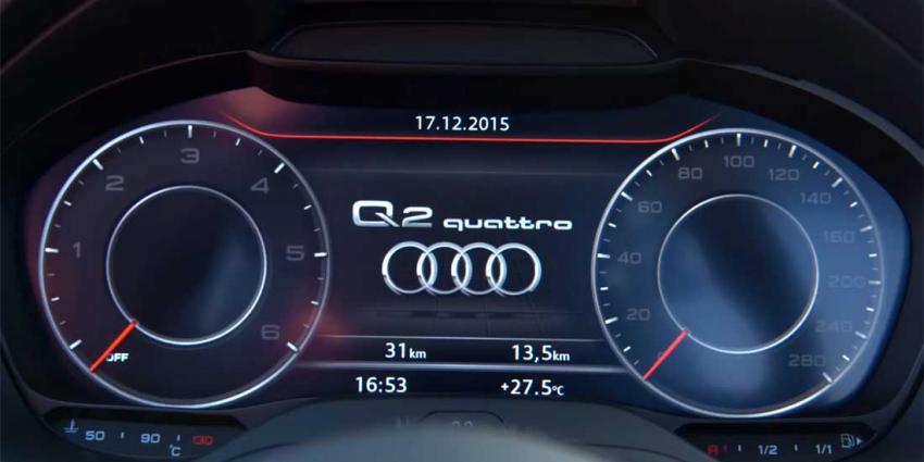 De Q2 het stoere broertje van de Audi A1