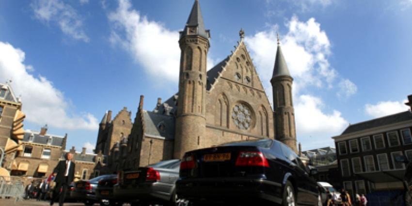Foto van Binnenhof auto minister | Archief EHF