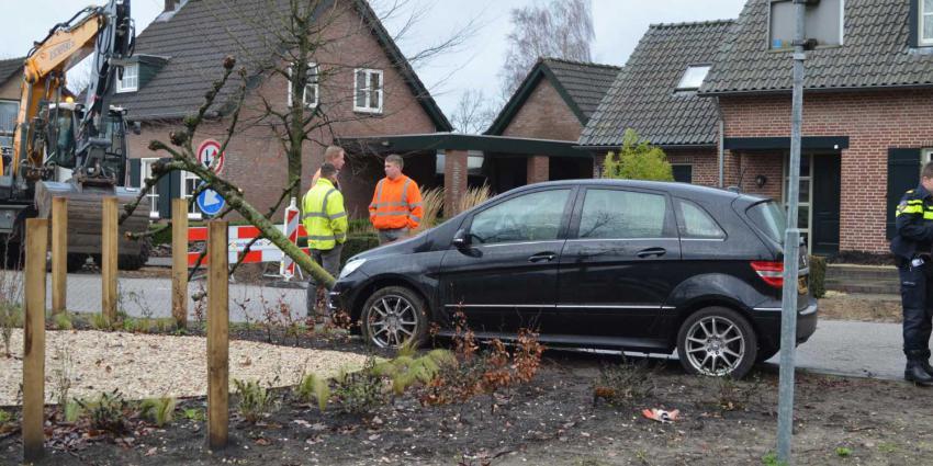 Automobilist gewond bij ongeval op Roderweg in Liempde