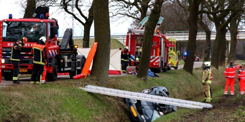 Dodelijk ongeval tussen Noord-Sleen en Emmen