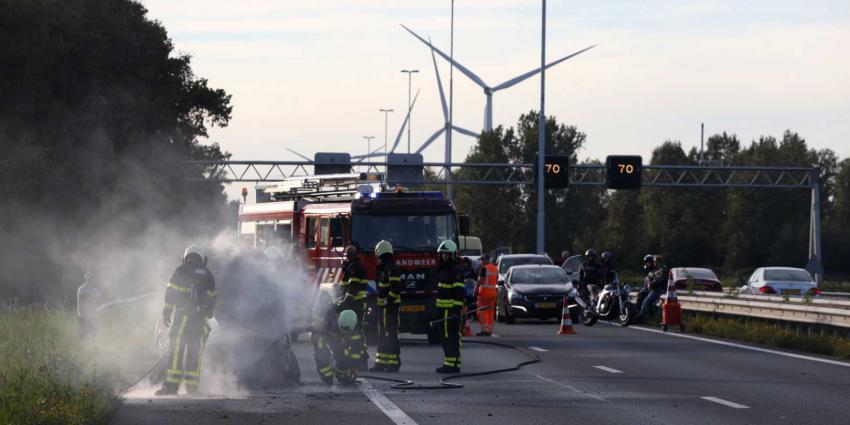 auto-brand-snelweg