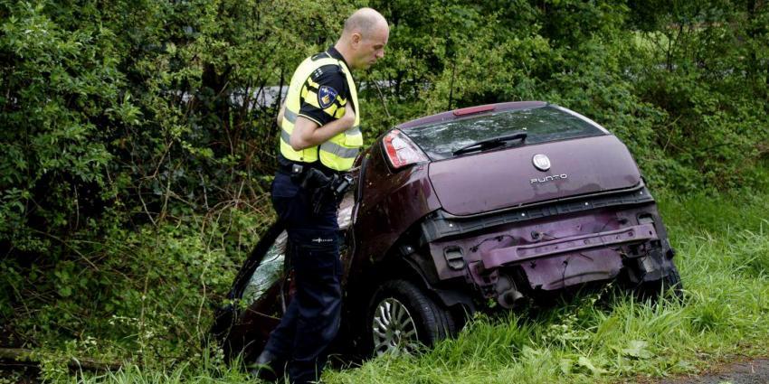 Veel schade bij eenzijdig ongeval Veendam