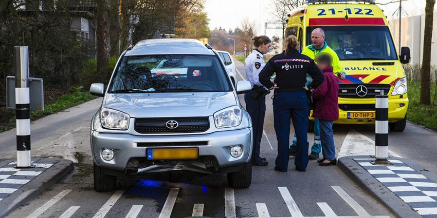 Fot ovan beweegbare paal en auto   Sander van Gils   www.persburosandervangils.nl