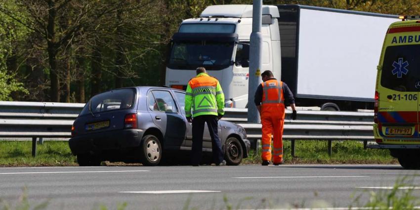 Vrouw gewond bij ongeval op snelweg A2 bij Liempde