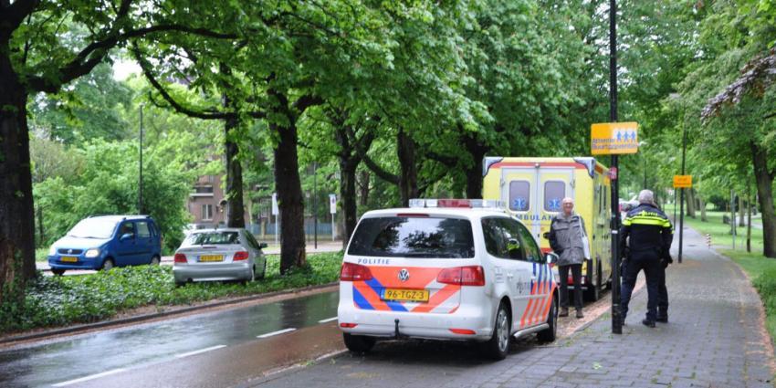 Auto raakt van de weg in Vlaardingen