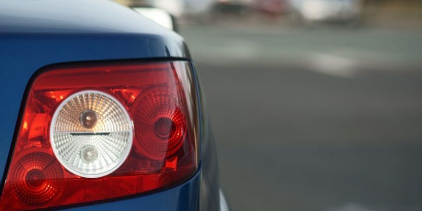 Foto van achterlicht auto