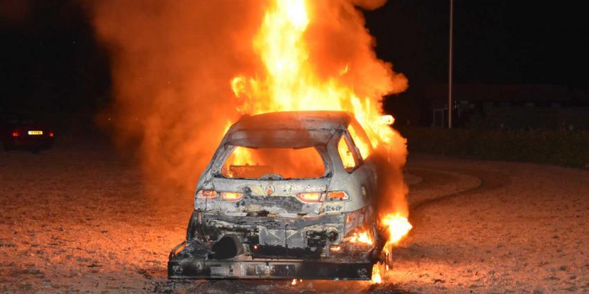 autobrand-aanhanger